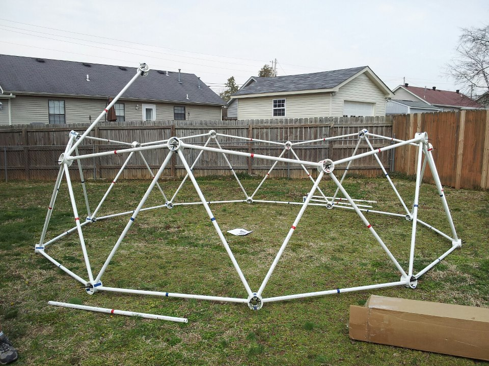 how to build a soccer net with pvc pipe